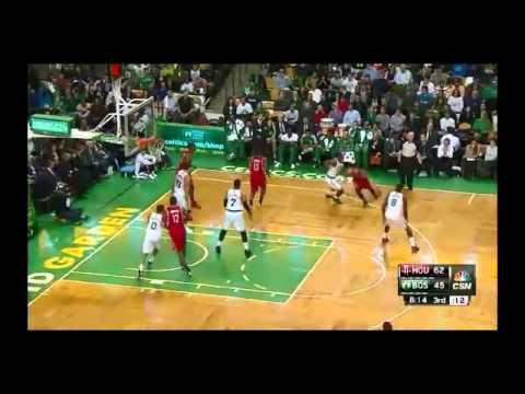 NBA CIRCLE - Houston Rockets Vs Boston Celtics Highlights 13 Jan. 2014 www.nbacircle.com