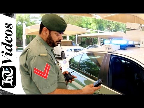 14 things you didn't know were inside a Dubai Police patrol car