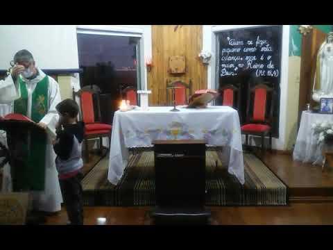 Santa Missa | 19.08.2021 | Quinta-feira | Padre Robson Antônio | ANSPAZ