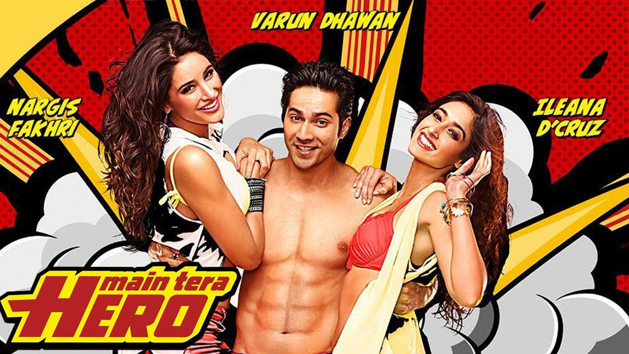 Main Tera Hero (2014) Hindi Movie Eng Sub *BluRay*