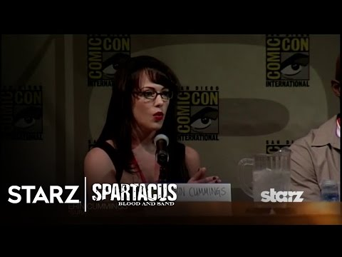 Spartacus | Blood and Sand - San Diego Comic-Con 2009 Panel Highlights | STARZ