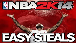 NBA 2K14 How To Easily Steal The Ball (and Win Games