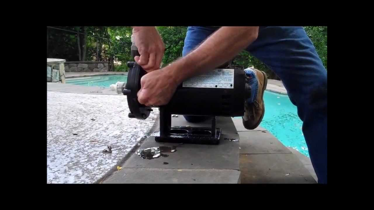How To Replace A Polaris Booster Pump Motor Youtube