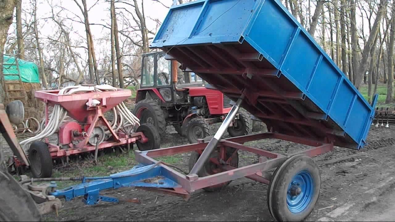 Самодельные трактора и прицепное