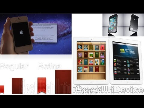 iPhone 4S, iPad 2 iOS 5.0.1 Jailbreak, Absinthe For Windows/Mac, Retina iPad, iBooks 2, SOPA & M