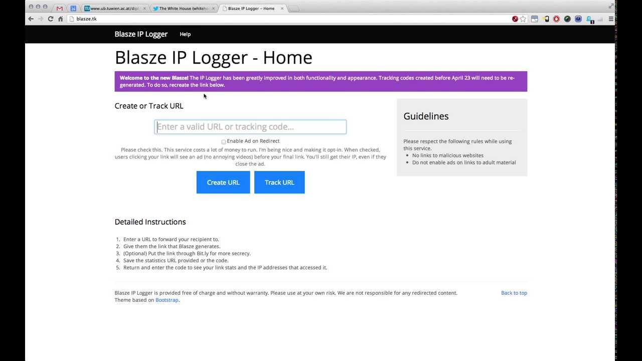 how to find the ip address of a twitter account
