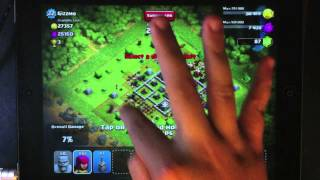 Clash Of Clans Barbarians Archers Rush Strategy