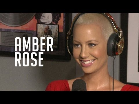 Amber Rose is BFFs with Rosenberg + gets deep on stripping w/ Ebro