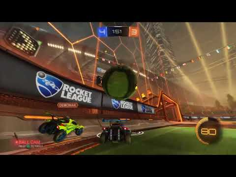Rocket League PS4 Top 100 Gameplay