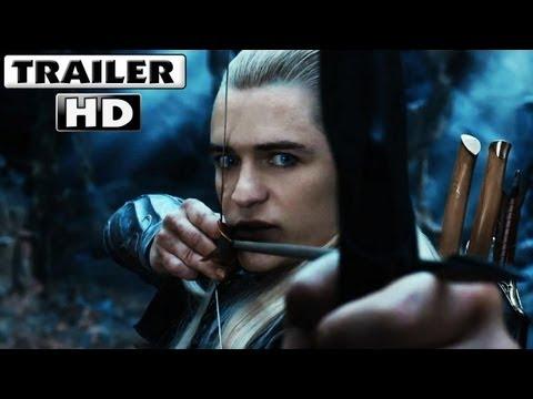El Hobbit 2 La desolación de Smaug Trailer 2013 en español