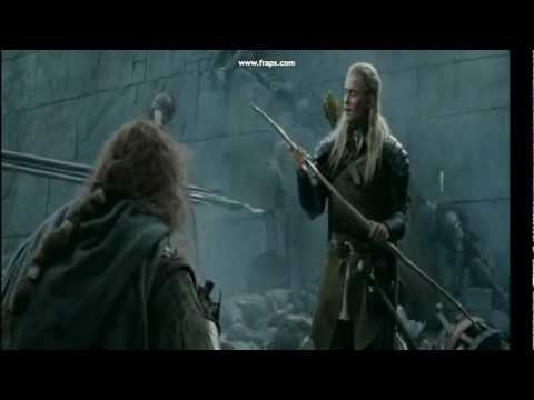 Gimli vs Legolas Kill count