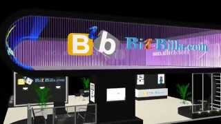 Virtual trade show booth by Svasam Soft for bizbilla.comvideo