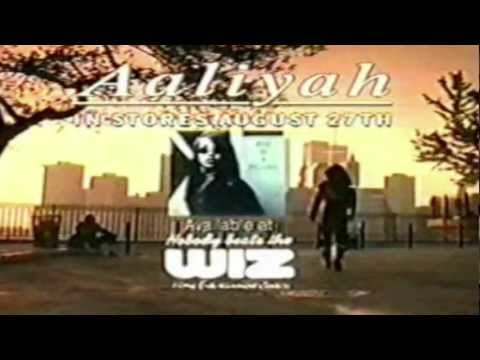 Aaliyah - Rare One In A Million Commercial Ad,