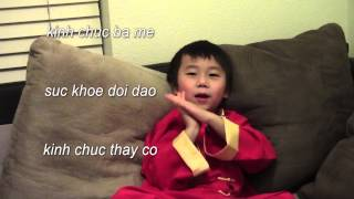 Vietnamese/Chinese Lunar New Year Children's Poem/Song Be