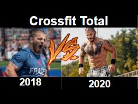 Crossfit Total Comparison | Mat Fraser 2018 vs 2020