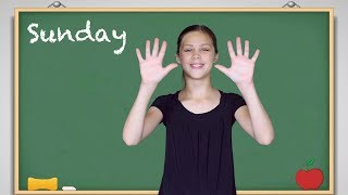 ASL Days of the Week Lesson and Song