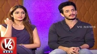Akhil, Sayesha Exclusive Interview