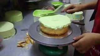 Cooking | menghias kek | menghias kek