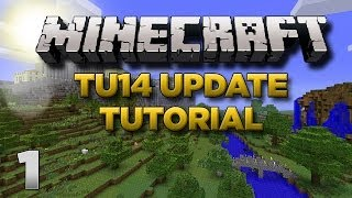 Minecraft Xbox: Lets Play TU14 Tutorial Part 1 [XBOX 360
