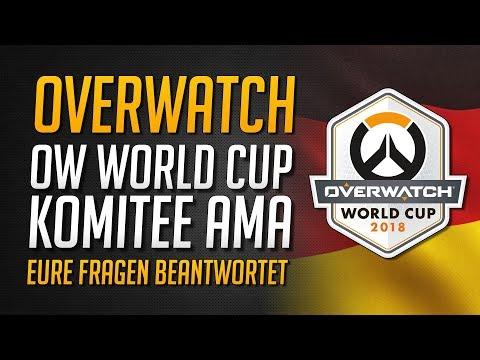 Overwatch WorldCup Komitee AMA | Top 12 Kader enthüllt! Eure Fragen beantwortet ★ Overwatch Deutsch