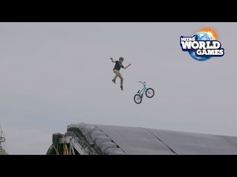 Athletes Weigh in on the 2017 Nitro World Games Training Facility