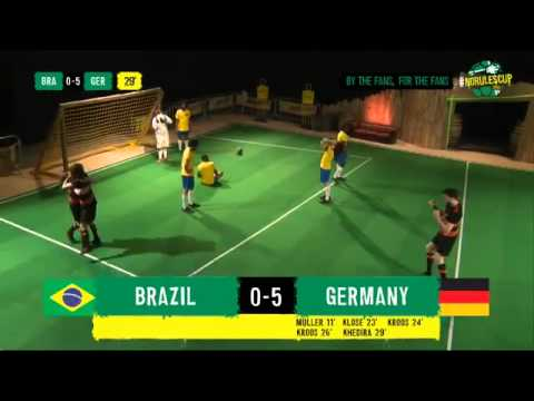 Brazil vs Germany 1-7 Full Highlights (Parody) ~ World Cup 2014