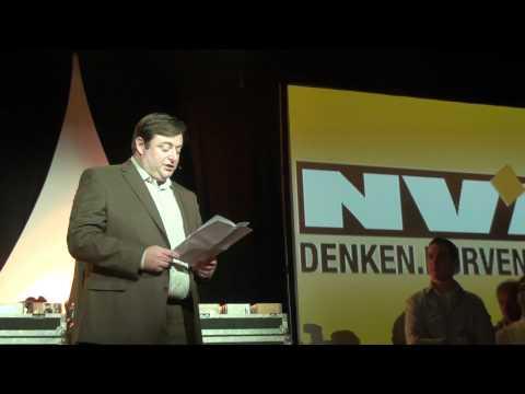 Bart De Wever : N-VA nieuwjaarstoespraak 2011 / deel 1  - HD ThalsFM Nnieuws.be