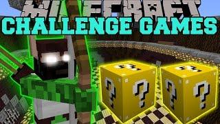 Minecraft: ELF HUNTER CHALLENGE GAMES - Lucky Block Mod - Modded Mini-Game