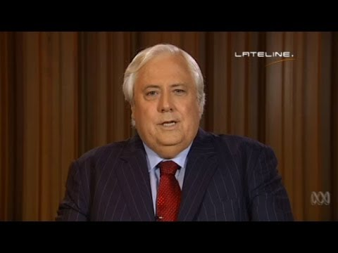 'Shut up': Clive Palmer challenges climate report findings