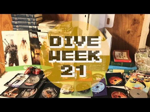 GameStop Dumpster Dive - GAMES GALORE! - Week 21