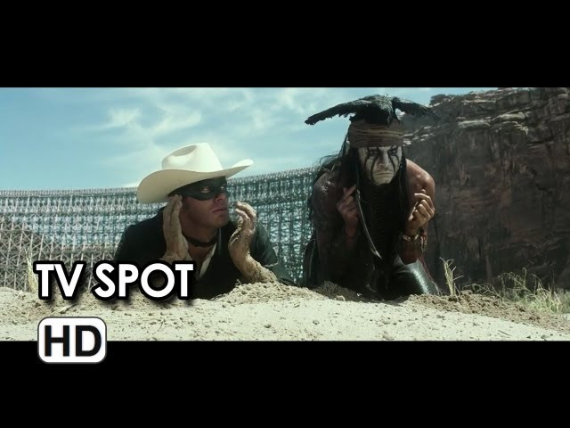 "The Lone Ranger - ""Fireworks"" TV Spot"