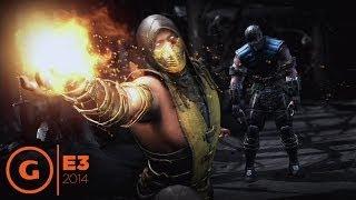 Mortal Kombat X E3 2014 Gameplay Trailer At Sony Press