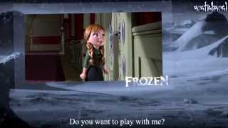 Frozen In Hindi Do You Want To Build A Snowman (Fandub