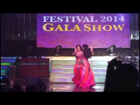 SaigonBellydance Festival 2014 - Múa đôi - Nhóm Hathor - Taxim Balady