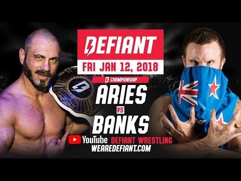 Defiant Wrestling #5: Full Show - Austin Aries vs. Travis Banks