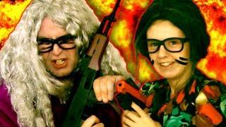 GRANNY WARFARE: THE GREAT ESCAPE - a Funny ACTION / COMEDY MOVIE / SHORT FILM Parody/Spoof