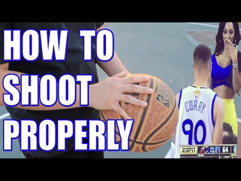 How to Shoot a Basketball Properly