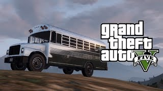 "GTA 5 Online: How To Get The ""CHROME PRISON BUS"" Online"