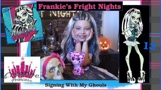 "Monster High Frankie's Fright Nights-Episode 13-""Signing"