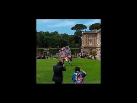 Benedizione Papale della Lancia d'Oro 2016