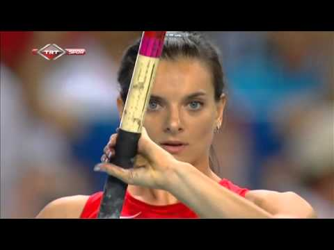 Isinbayeva Rio'ya göz kırpıyor