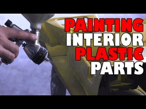 painting interior plastic parts youtube. Black Bedroom Furniture Sets. Home Design Ideas