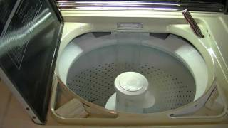 1986 Kenmore Limitied Edition Washer. First Water Test