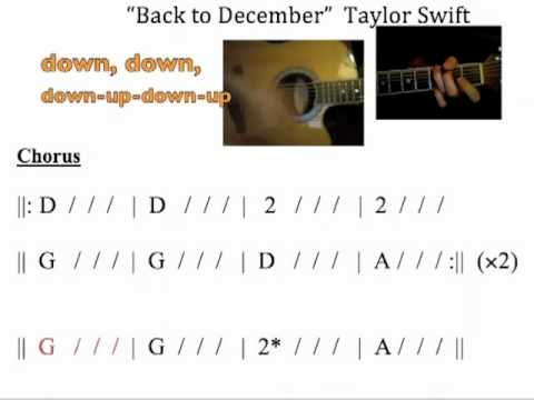 Taylor swift back to december lyrics karaoke