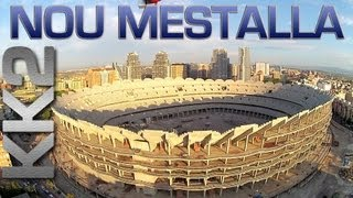 [The Nou Mestalla stadium ghost] Video