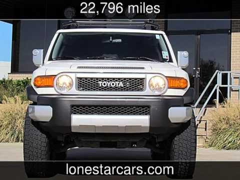 2012 Toyota FJ Cruiser  Used Cars - Plano,Texas - 2013-12-01