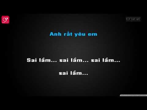 Mashup Làm Người Yêu Anh Nhé   Rum ♪ Karaoke Beat ♪  Hát bè