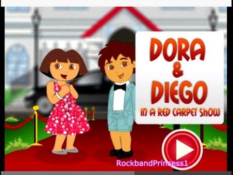 Dora The Explorer Games - Dora And Diego Dress Up Game