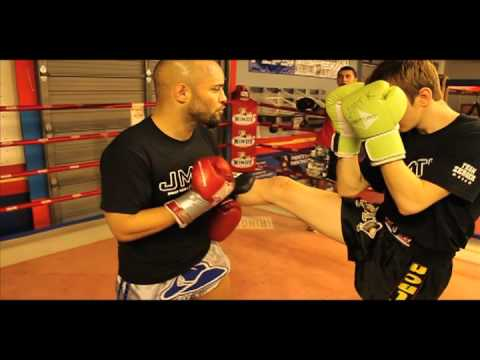 JMTK MMA Presents Muay Thai Kickboxing Techniques w/ Head Trainer Andy Zerger at JMTK in Wichita,KS