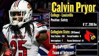 2014 NFL Draft Profile: Calvin Pryor Strengths And